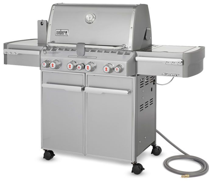 Weber Summit S 470 Natural Gas Outdoor Grill 7270001