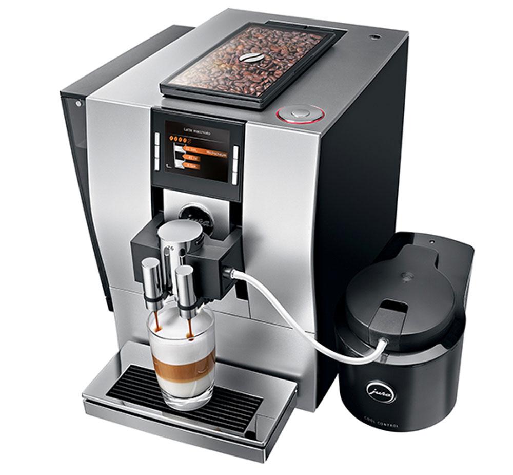 Jura Capresso Z6 Silver Automatic Coffee Center 15093