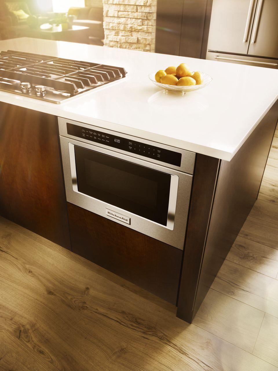 KitchenAid 24 Microwave Oven Drawer KMBD104GSS