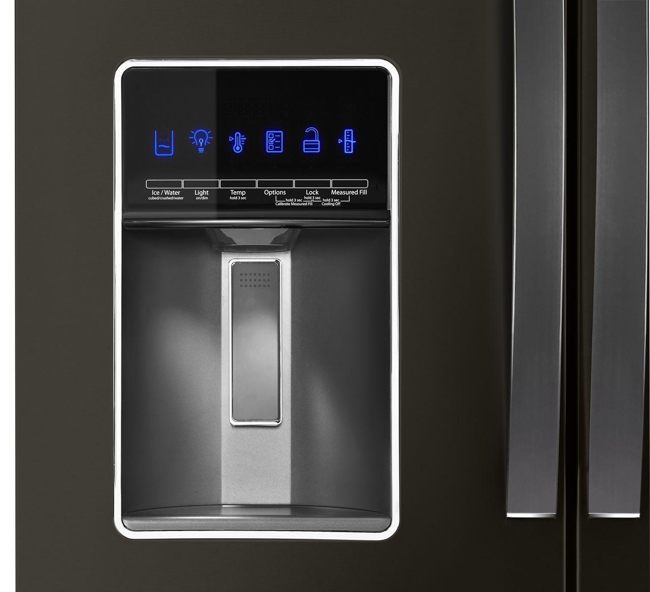 Whirlpool Black Stainless Refrigerator Wrx986sihv