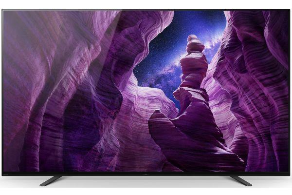 "Large image of Sony 65"" OLED 4K HDR Smart TV - XBR65A8H"