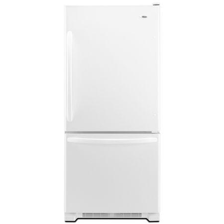 Amana White Bottom Freezer Refrigerator Abb1924wew Abt