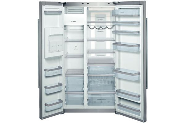 Bosch 22 Cu. Ft. Counter Depth Side-by-Side Stainless Refrigerator - B22CS80SNS