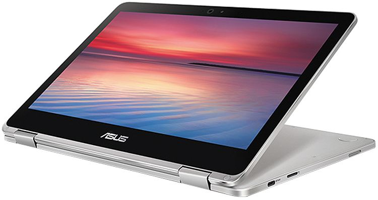 Asus Chromebook Flip C302 Silver Laptop Computer