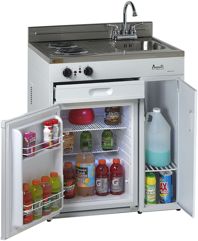 Avanti 30 Quot Complete Kitchen With Refrigerator Ck3016