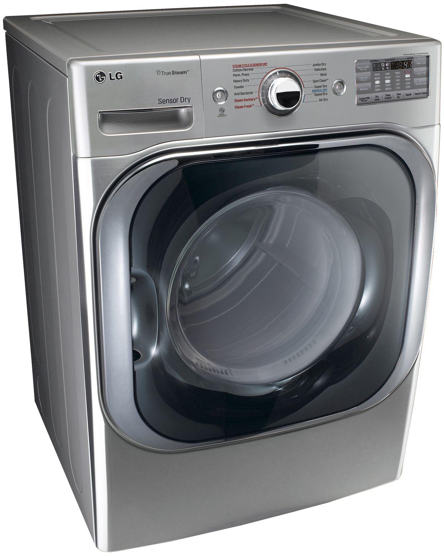 Lg Graphite Steel Electric Steam Dryer Dlex8100v 1