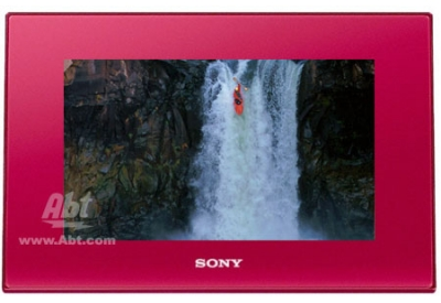 Sony - DPF-D72N/R - Digital Photo Frames