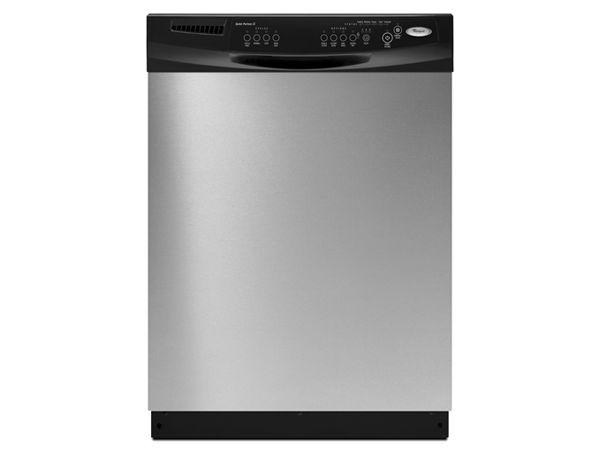 Whirlpool 24 Stainless Steel Built In Dishwasher