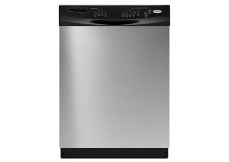 Whirlpool Stainless Steel BuiltIn Dishwasher DUXTVS Abt - Abt dishwasher