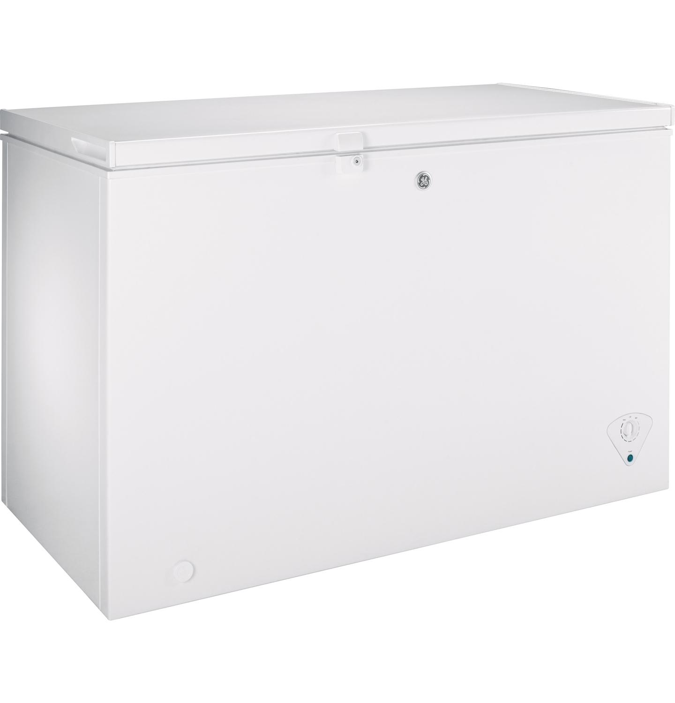Ge 10 6 Cu Ft White Chest Freezer Fcm11phww Abt