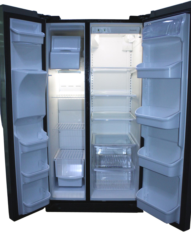 Frigidaire Black Side By Side Refrigerator Ffhs2622mb