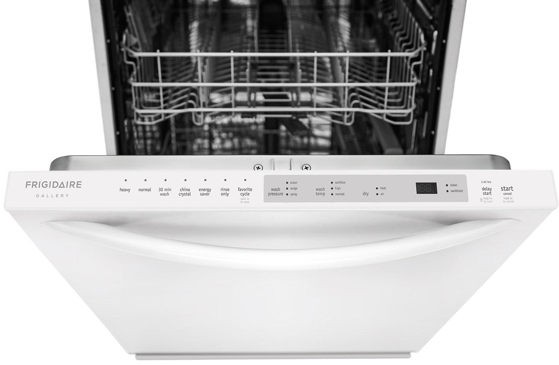 Frigidaire Gallery 24 Quot White Dishwasher Fgid2476sw