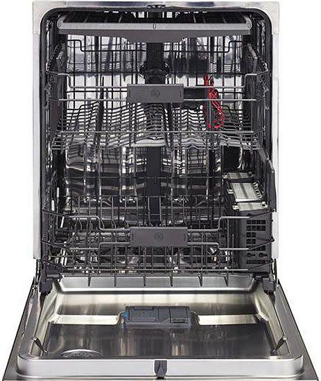 "Shop Ge 24 In Black Dishwasher With Piranha Hard Food: GE 24"" Black Built-In Dishwasher"