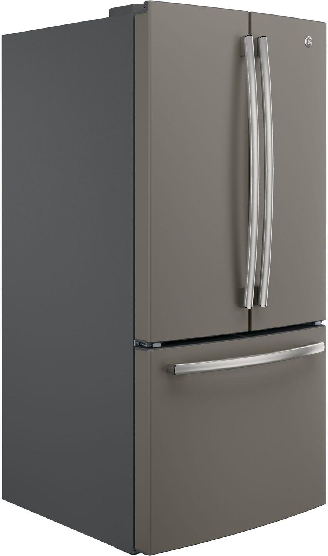 Ge slate french door refrigerator gne25jmkes main image 1 rubansaba
