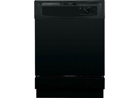 "GE 24"" Black Built-In Dishwasher - GSD2100VBB"