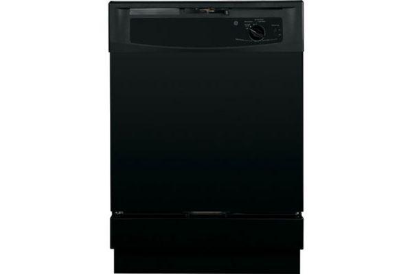 """Large image of GE 24"""" Black Built-In Dishwasher - GSD2100VBB"""