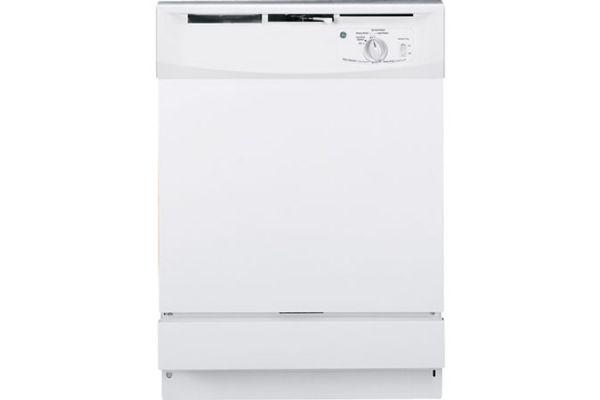 "GE 24"" White Built-In Dishwasher - GSD2100VWW"
