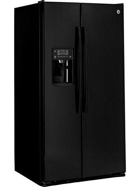 Ge Black Side By Side Refrigerator Gse25gghbb Abt