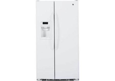 GE - GSHF3KGZWW - Side-by-Side Refrigerators
