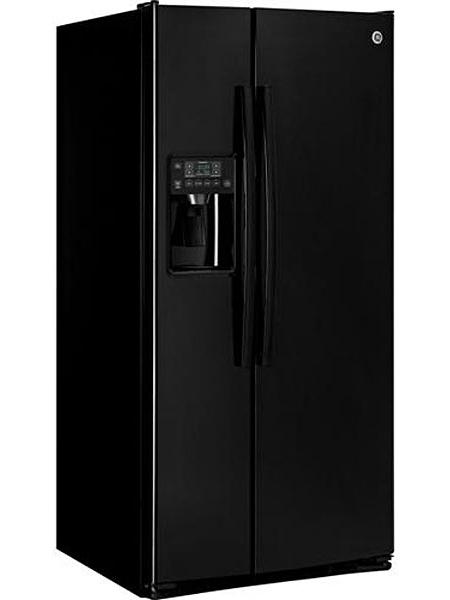 Ge Black Side By Side Refrigerator Gss23hghbb