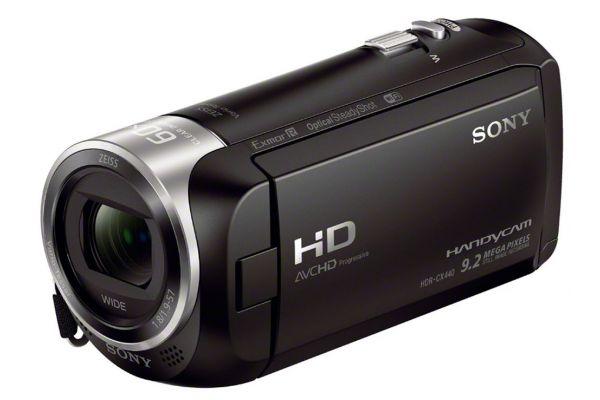 Large image of Sony Black Full HD 60p Camcorder - HDRCX440/B