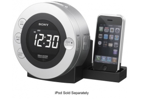 Sony - ICF-CD3iPSIL - Clock Radios