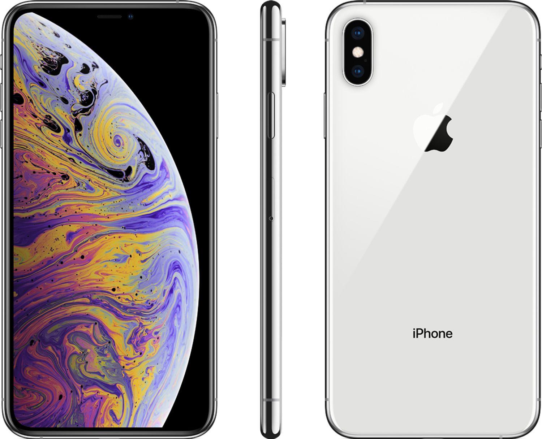Apple Silver IPhone XS Max IPHONEXS MAX256GBSIL Amp 6576B