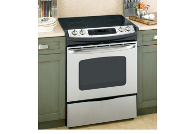 GE - JSP42SNSS - Slide-In Electric Ranges