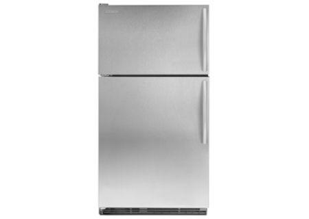 KitchenAid - K2TLEFFWMS - Top Freezer Refrigerators