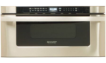 "Sharp 30"" Stainless Steel Microwave Drawer - KB-6525PS"