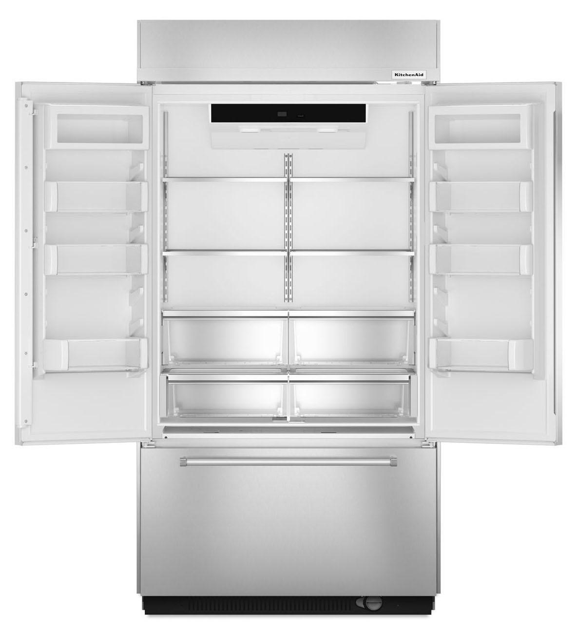 Kitchenaid Kbfc42fts kitchenaid built-in french door refrigerator - kbfn402ess