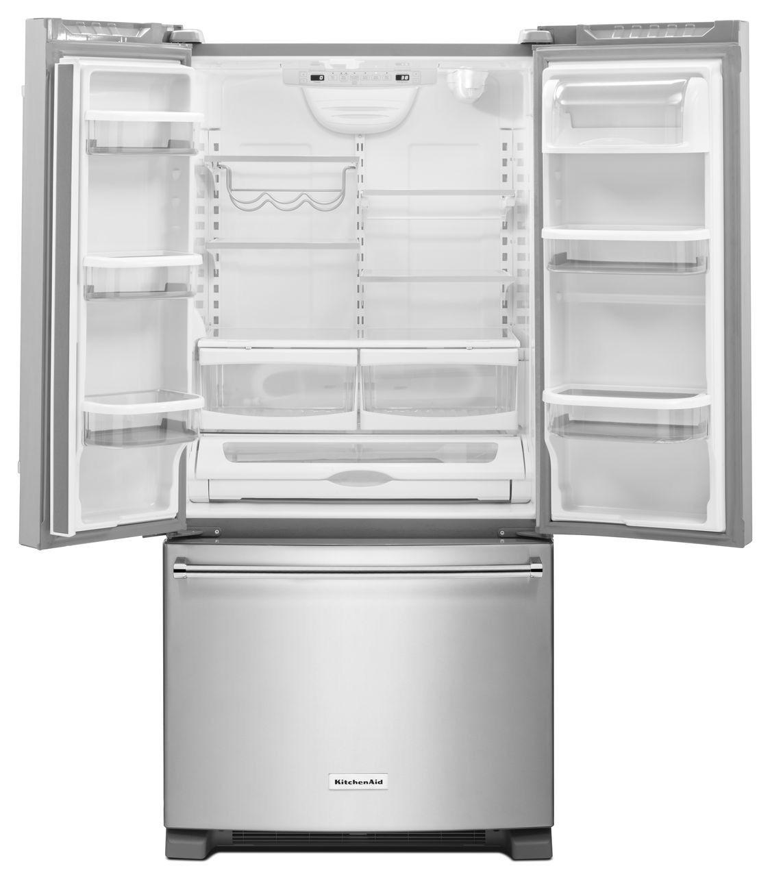 KitchenAid French Door Refrigerator - KRFF302ESS