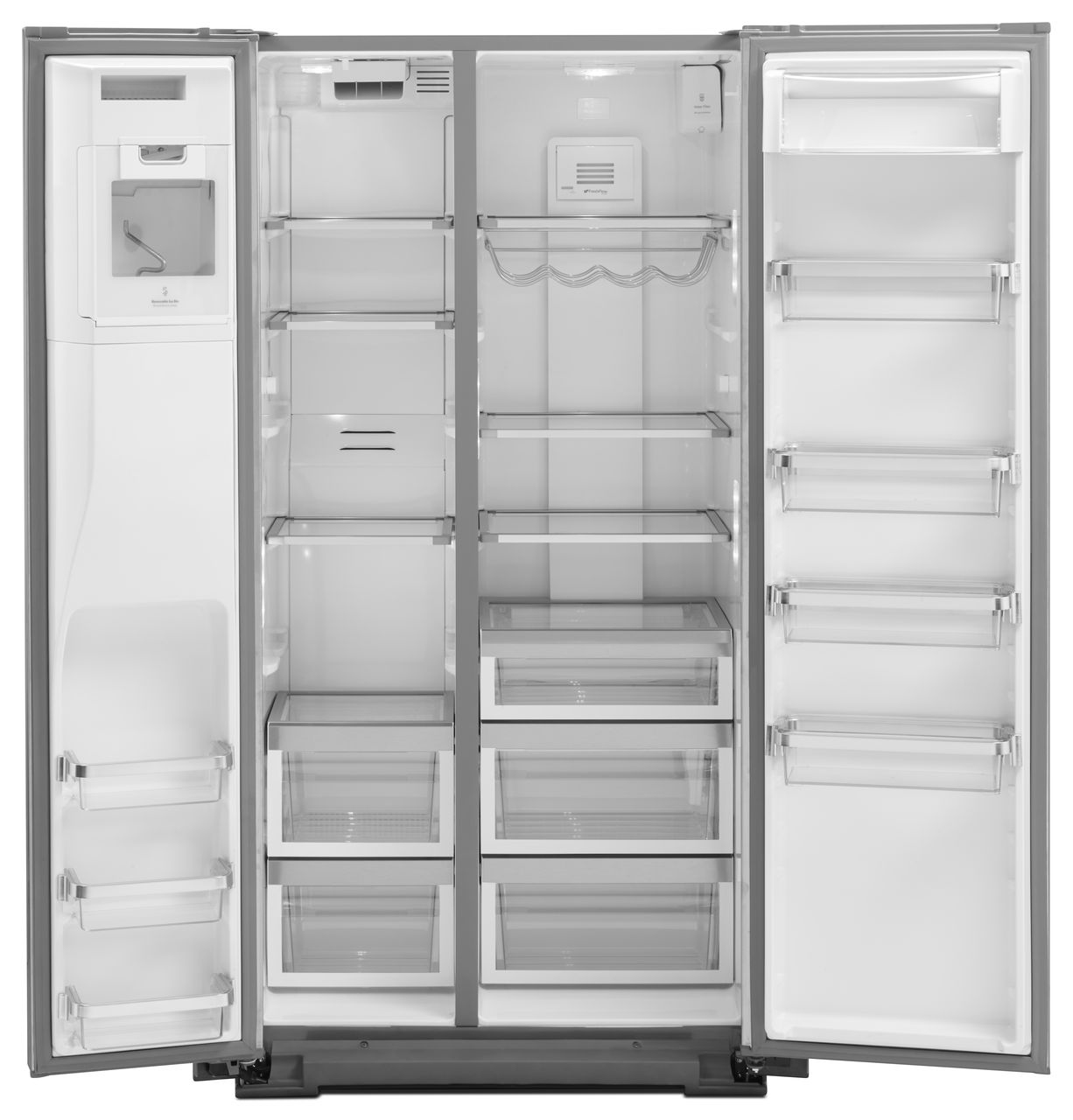 Kitchenaid Refrigerator White kitchenaid sideside refrigerator - krsc503ess