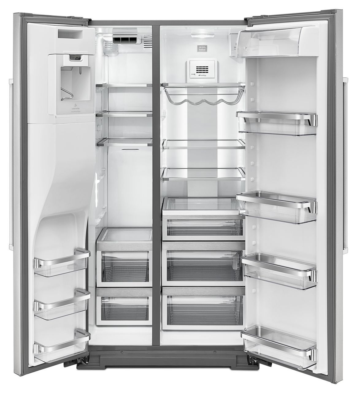 Kitchenaid Counter Depth Side By Refrigerator Manual : Kitchen ...