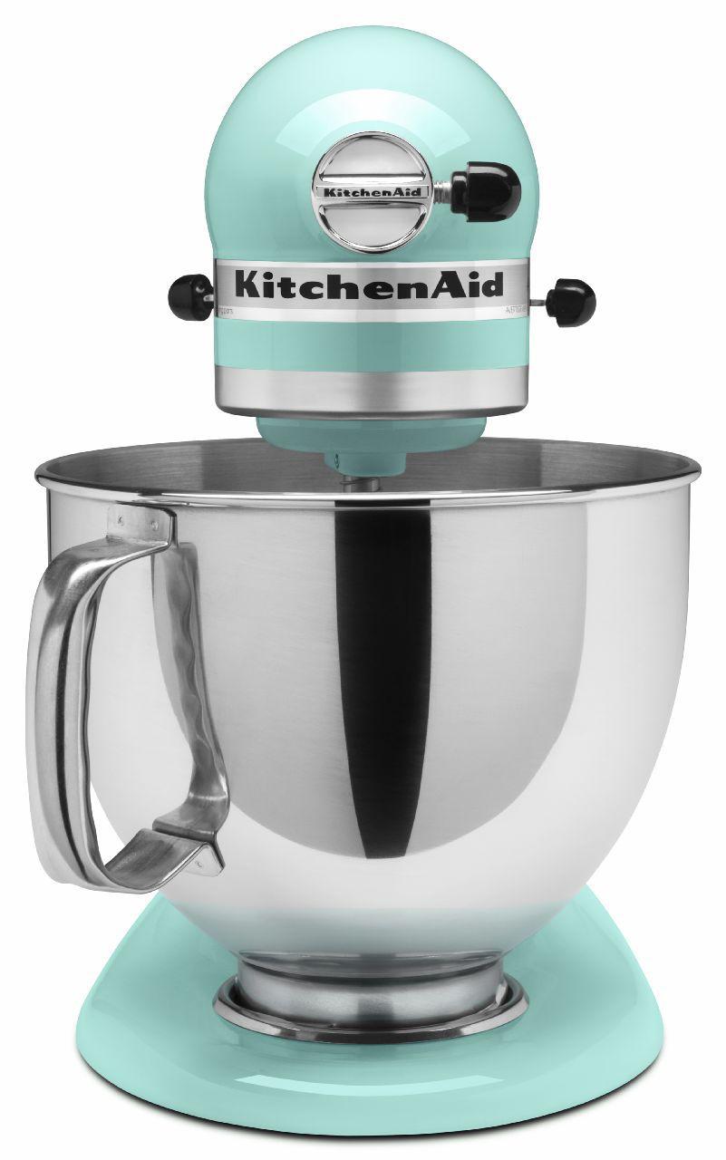Kitchenaid Artisan Series Ice Blue Stand Mixer Ksm150psic