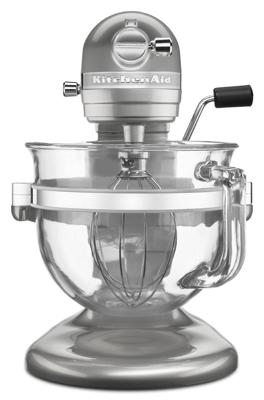 KitchenAid 6500 Design Bowl-Lift Stand Mixer - KSM6521XSR