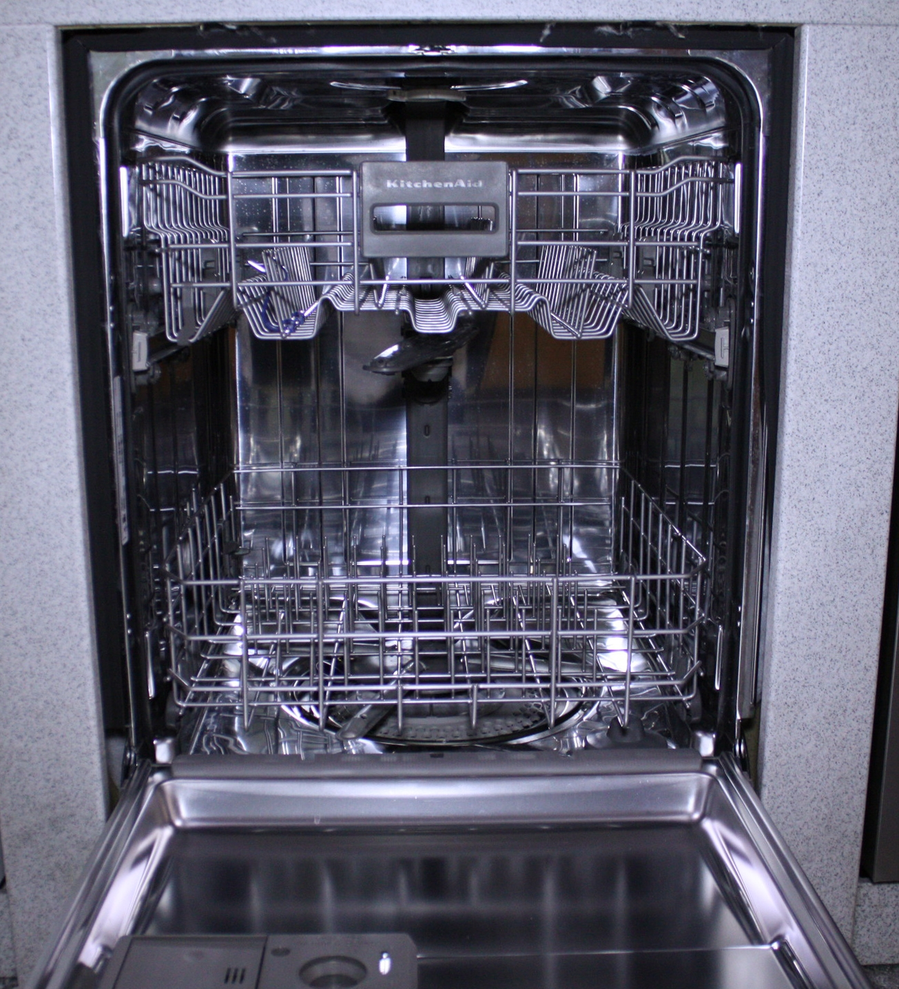 Kitchenaid Stainless Steel Dishwasher Kudc10fxss Abt