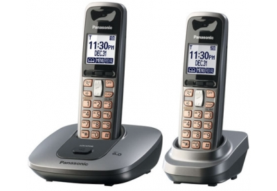 Panasonic - KX-TG6412M - Cordless Phones