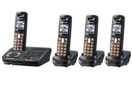 Panasonic - KX-TG6444T - Cordless Phones