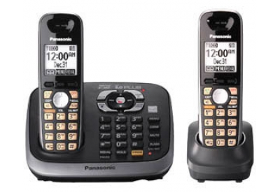 Panasonic - KX-TG6542B - Cordless Phones