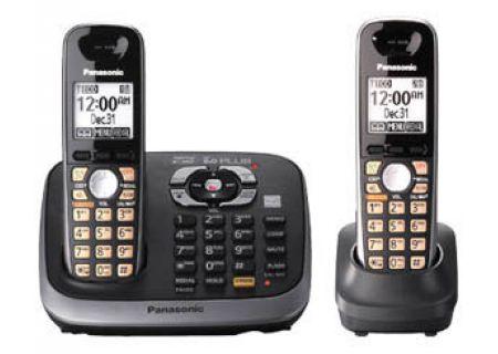 Panasonic - KX-TG6542B - Cordless Phones