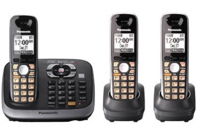 Panasonic - KX-TG6543B - Cordless Phones