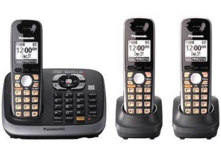 Panasonic - KX-TG6543B - Cordless Phones