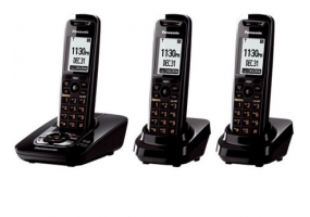 Panasonic - KX-TG7433B - Cordless Phones