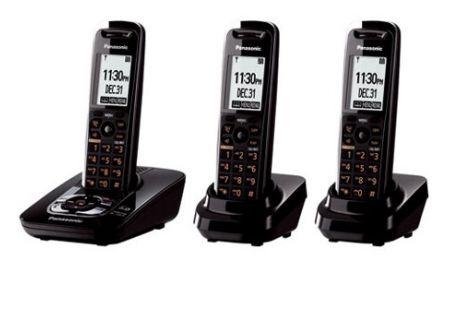 Panasonic - KX-TG7433B - Cordless Phones