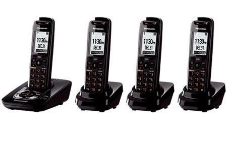 Panasonic - KX-TG7434B - Cordless Phones
