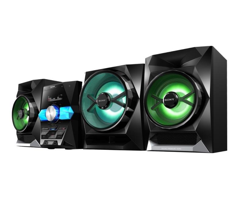 Sony 1800w Bluetooth Wireless Music System Lbtgpx555