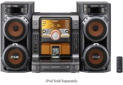 Sony - LBT-ZX66i - Mini Systems & iPod Docks