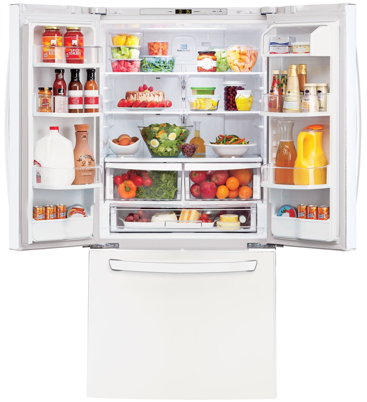 Lg white french door refrigerator lfc24770sw abt main image 1 2 rubansaba