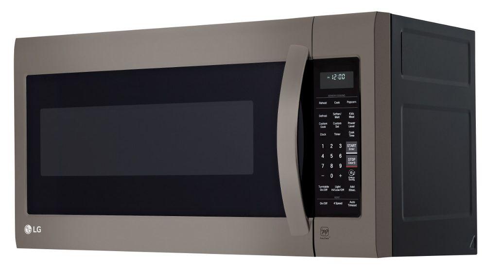 Lg Black Stainless Microwave Oven Lmv2031bd